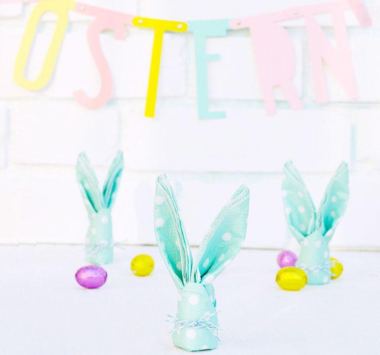 easy Easter napkins