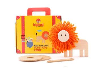 Kipod Pom Pom lion Kit