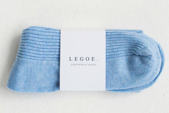 Legoe Heritage cashmere socks