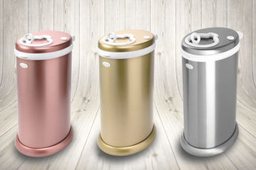 Ubbi nappy pail metallic colours