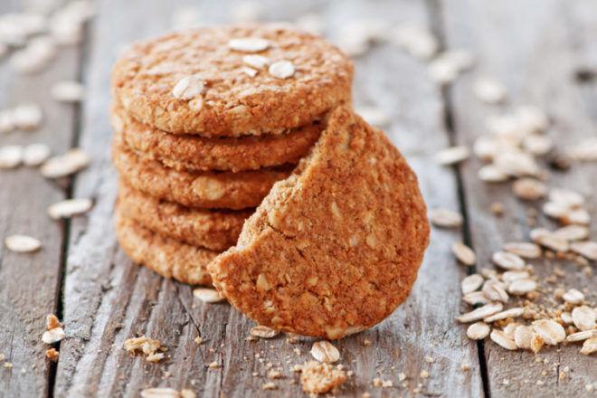 ANZAC Cookies crunchy