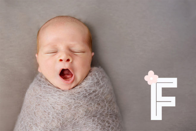 Baby names that start with F