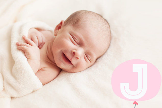 Baby names that start with J