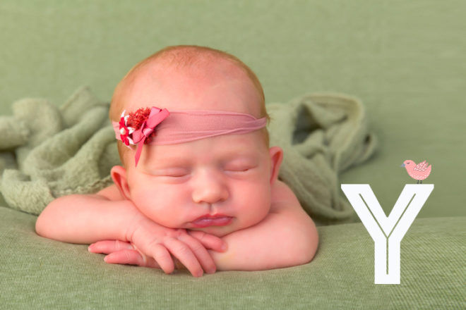 Baby names that start with Y