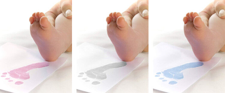 BabyInk prints colours