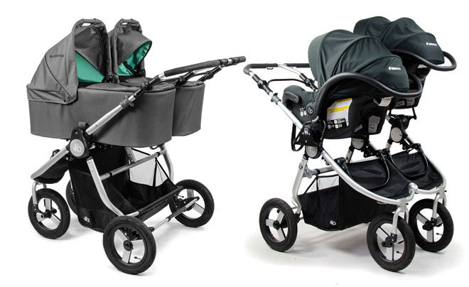 Bumbleride Indie Twin carrycots