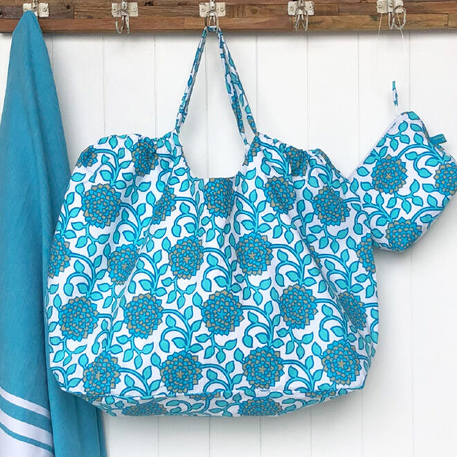 Carnival Homewares Beach Bag XXL Aquamarine