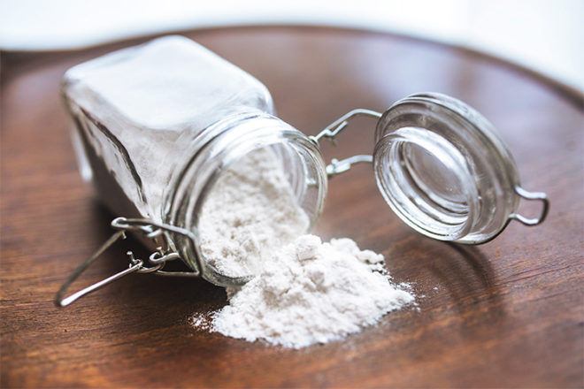 Nappy rash treatments natural corn flour