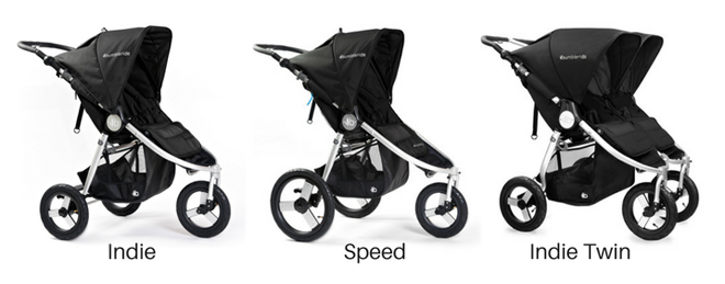 Bumbleride black prams
