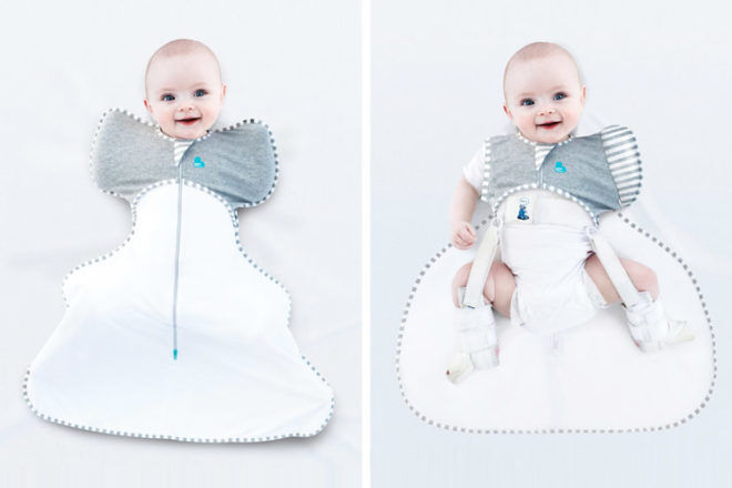 Love to dream hip dysplasia swaddle open