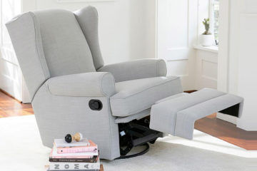 Pottery Barn Kids Winged Back Recliner