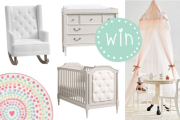 Pottery Barn Kids Dream Nursery Promotioni