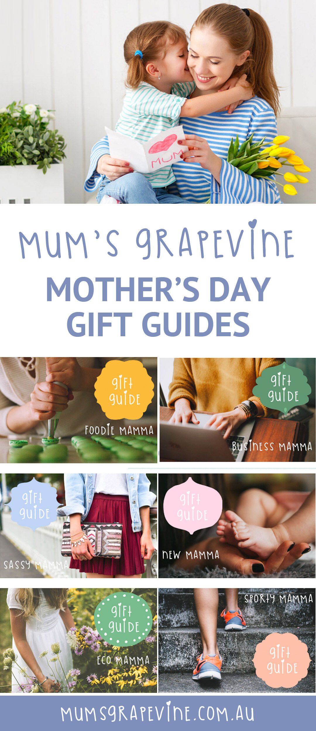2018 Mother's Day Gift Guide Pins