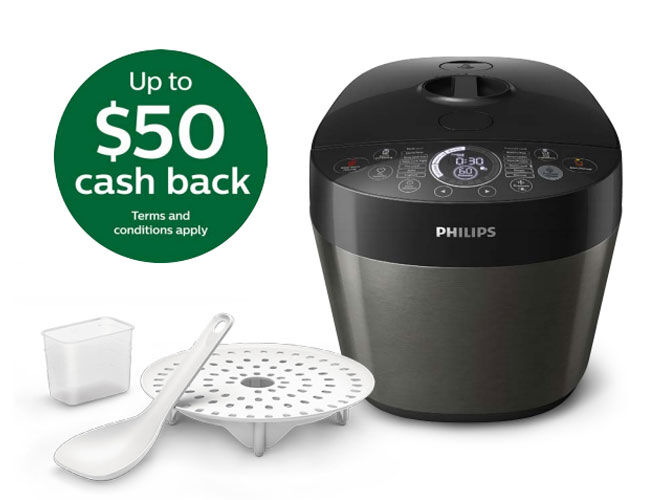 Philips Deluxe all in one cooker mothers Day offer