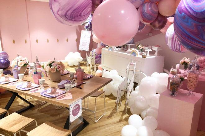 Rabbit Hole play centre Melbourne unicorn party room