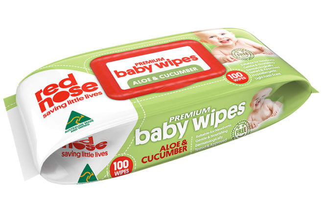 Red Nose Baby Wipes Aloe & Cucumber