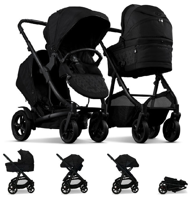 Redsbaby Carbon Limited Edition Black pram