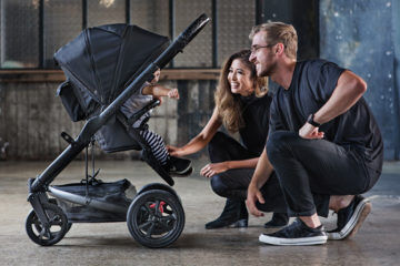 Redsbaby Carbon limited edition pram jive