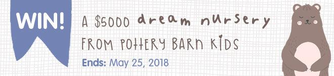 Win a $5000 pottery Barn Kids dream nursery