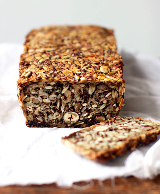 life changing loaf of bread, healthy snack