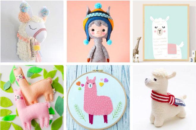 Trending: Llama nursery decor