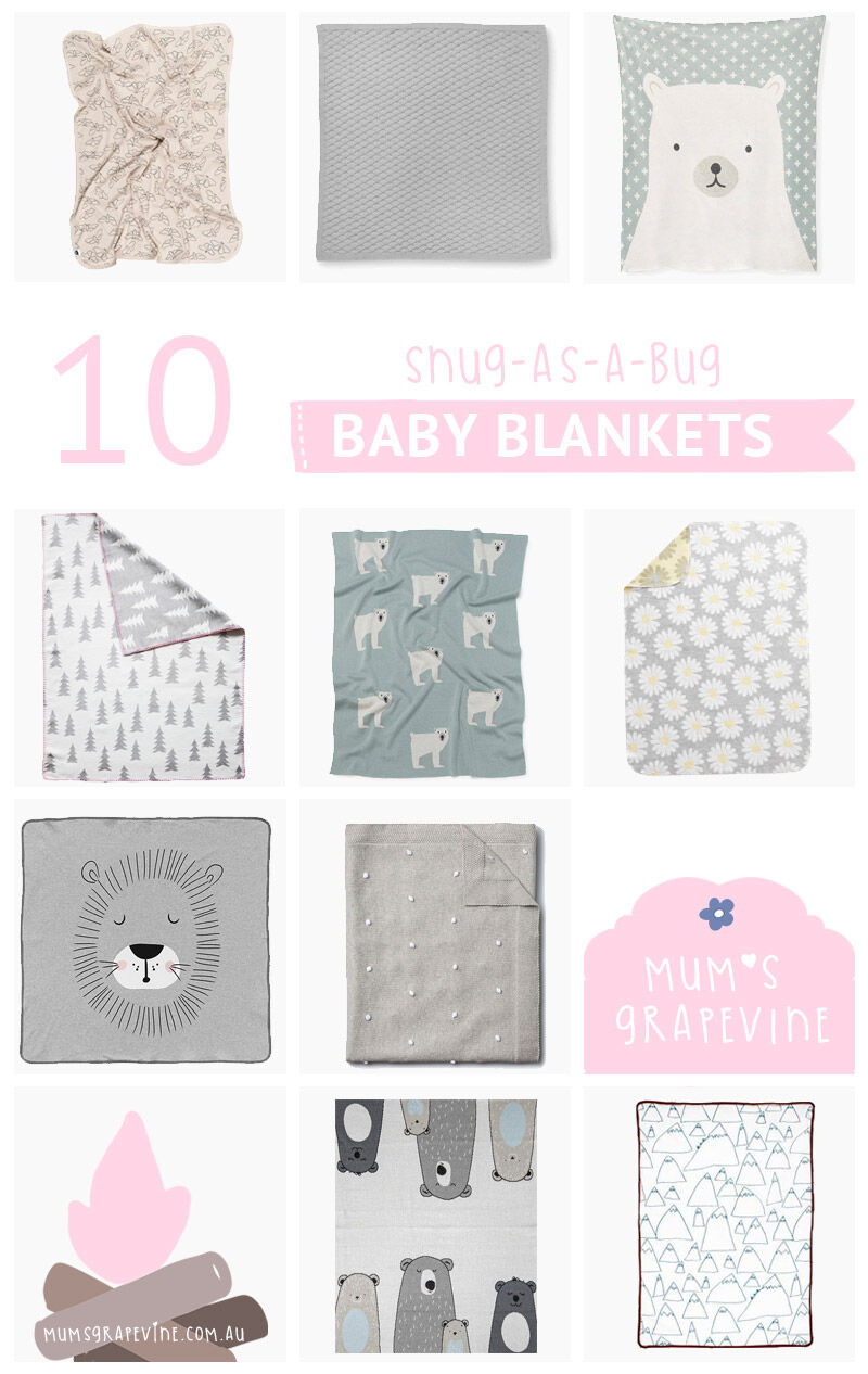 10 snug baby blankets for winter