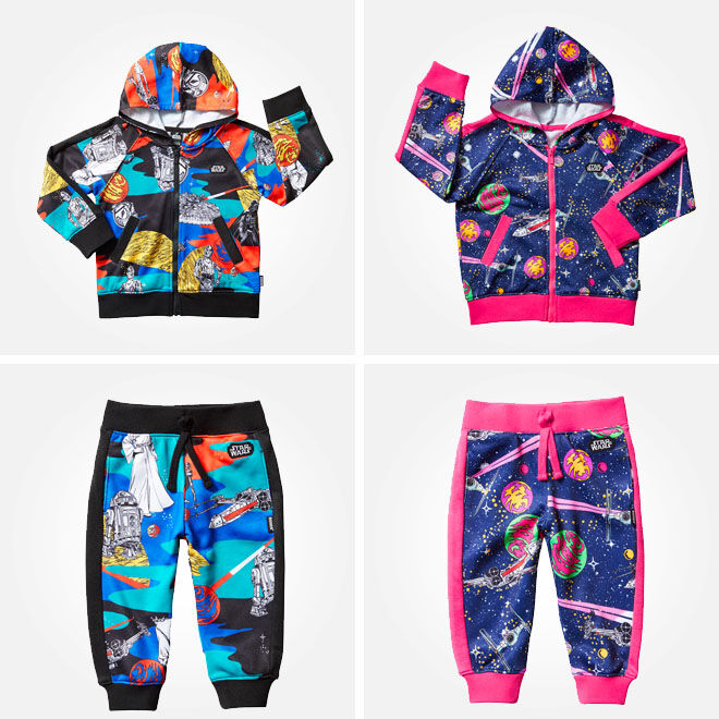 Star Wars Bonds Baby tracksuits
