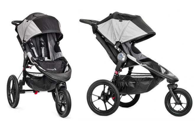 Baby Jogger Summit X3 jogging pram