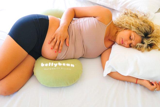 Belly Bean maternity pillow