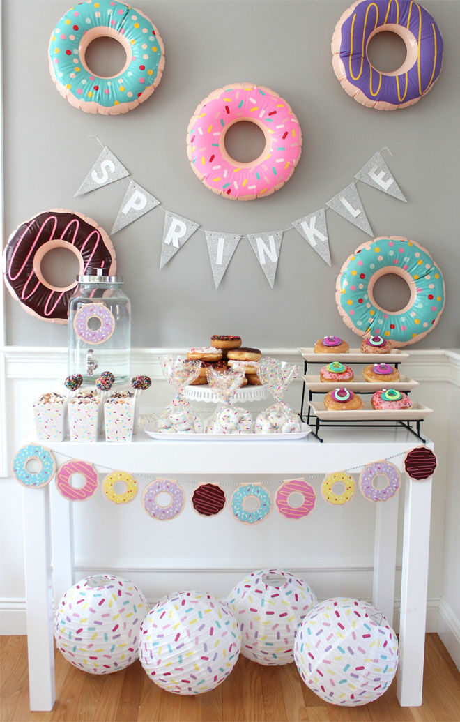 Doughnut Baby Shower