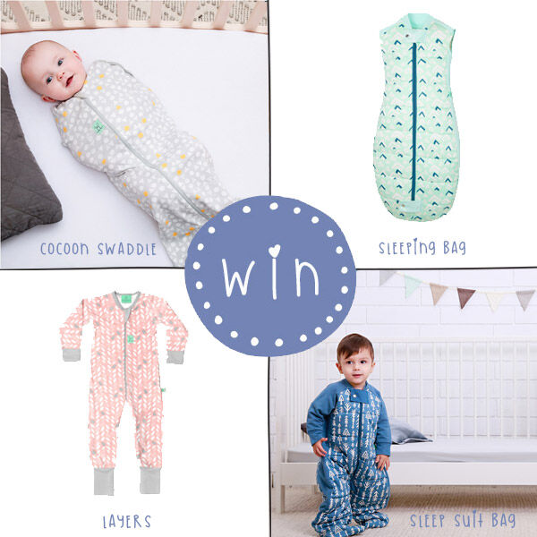 Win a Ergopouch sleep colleciton