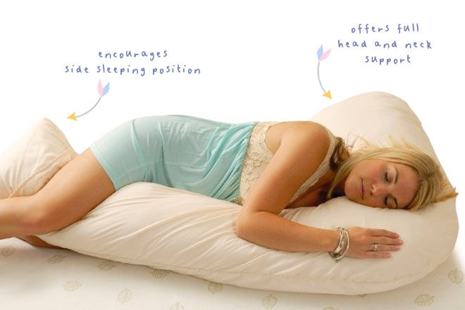Lucky 7 Maternity Pillow