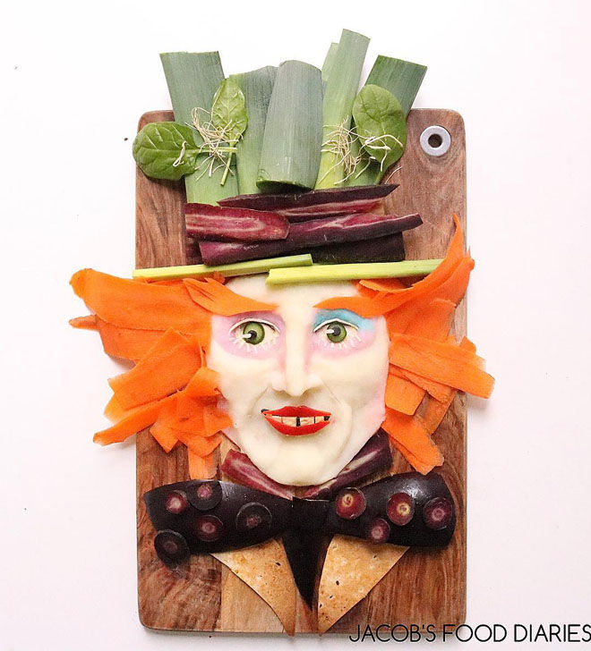 Mad Hatter food creation: Jacobs Food Diary