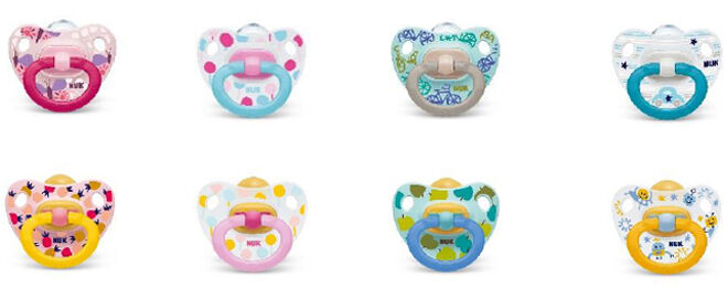 NUK soothers dummy designs
