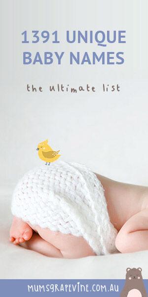 Unique Baby Name List