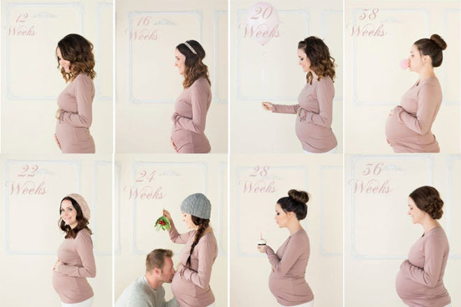 14 Weekly Photo Ideas To Take During Pregnancy Mum S Grapevine
