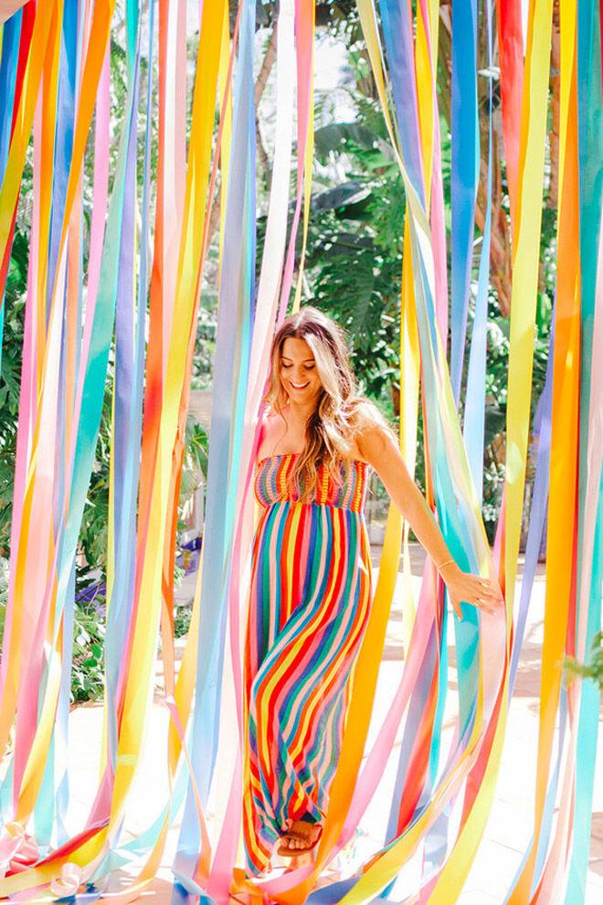 Rainbow Baby Shower Theme