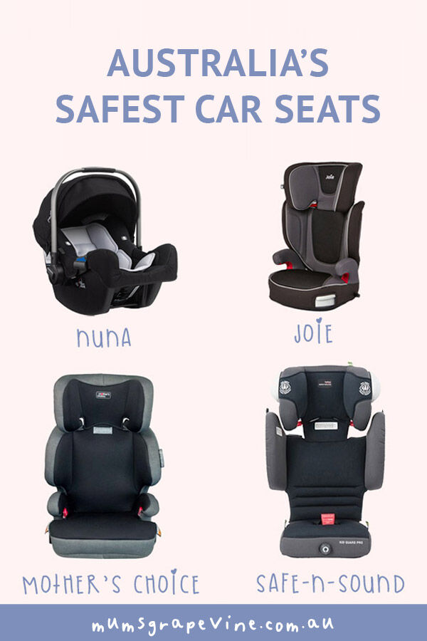 Australia's safest car seats 2019