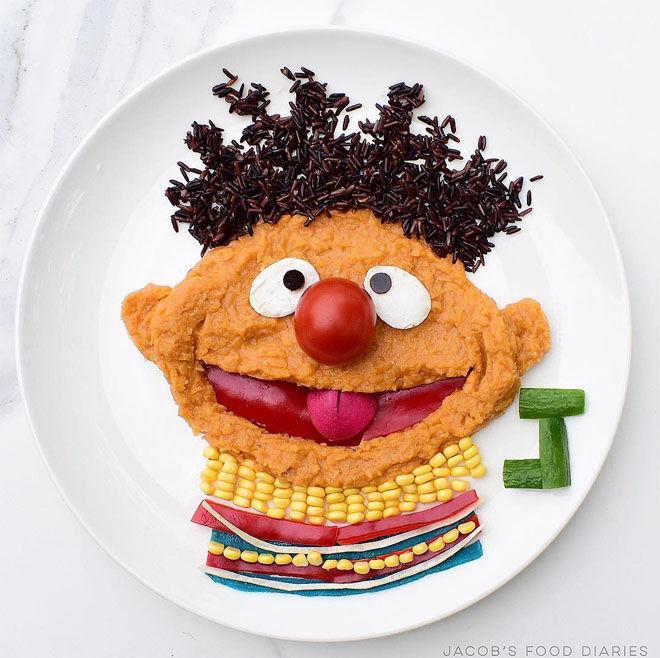 Sesame Street dahl: Jacobs Food Diary