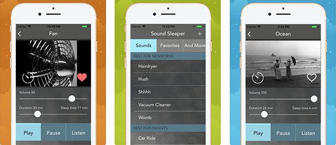 Sound sleep white noise app