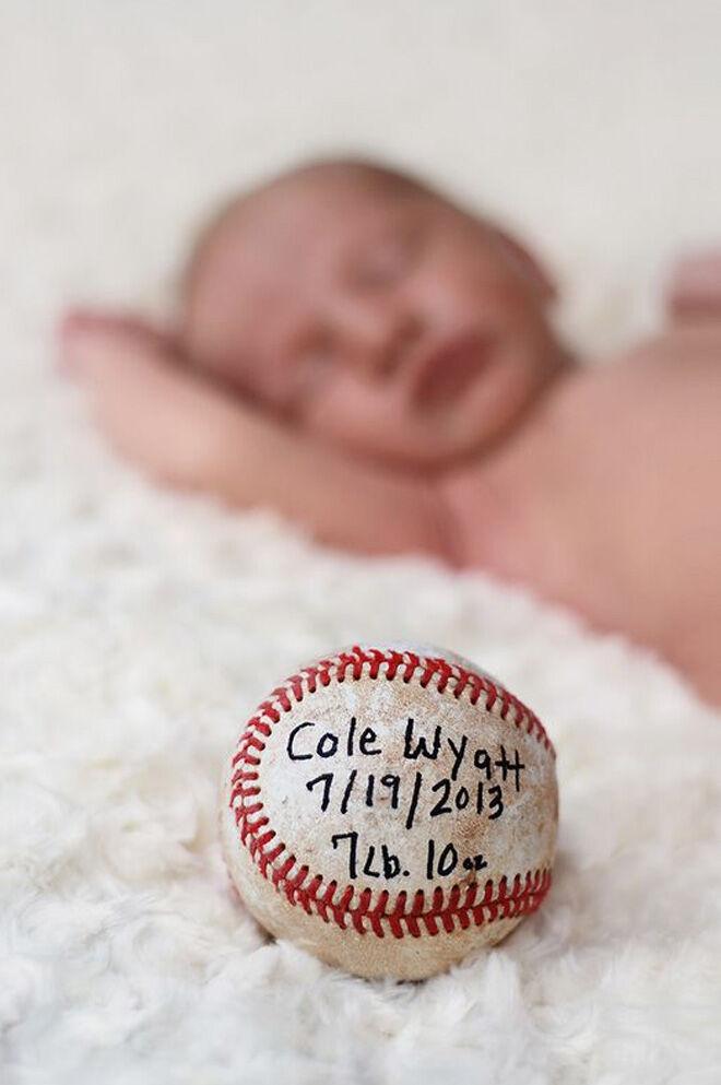 Sport birth announcement