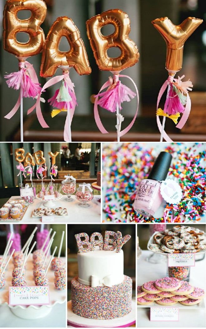 Sprinkles baby shower
