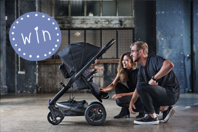 WIN a Redsbaby Jive 2 Carbon Pram