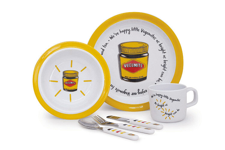 Vegemite dinner sets