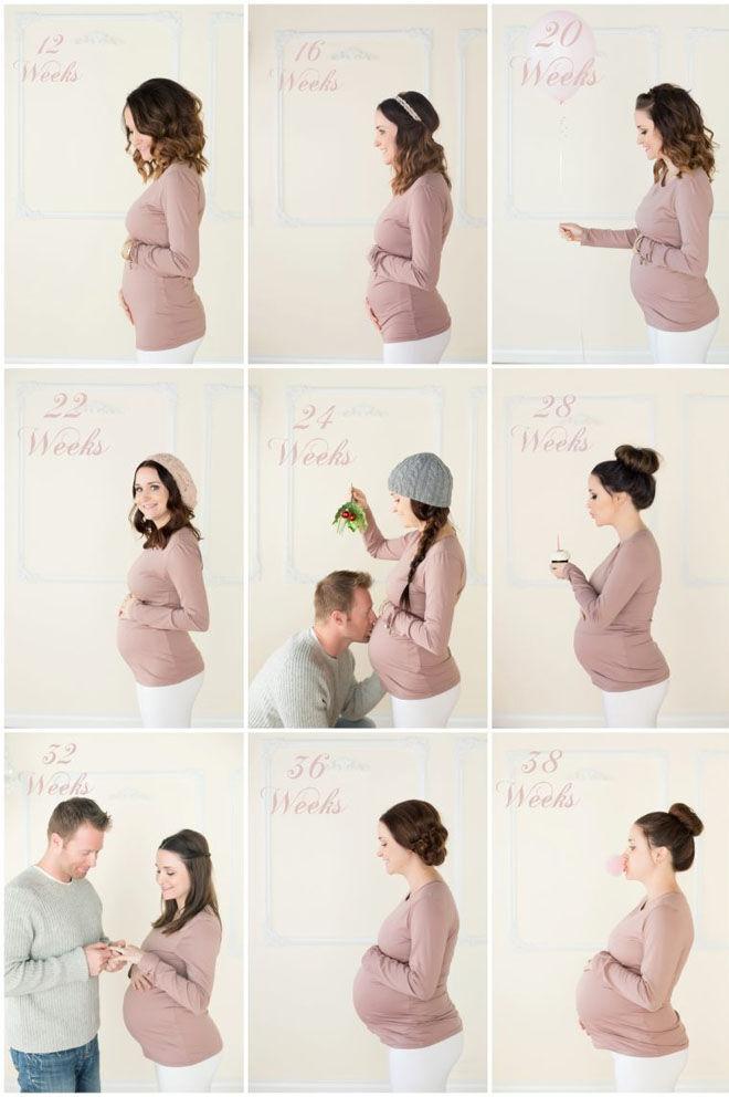 weekly pregnancy photos Jodi Lynn