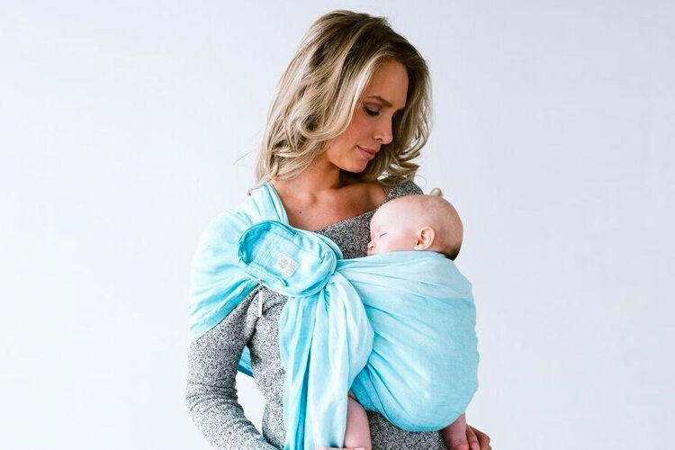 Baby wearing after a c-section