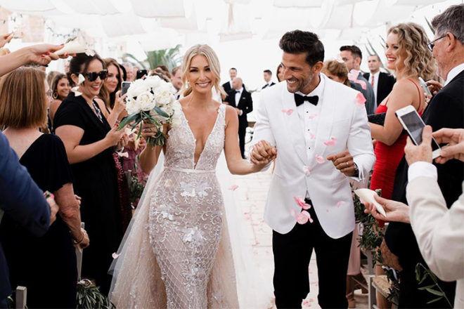 First Australian Bachelor wedding Tim and Anna