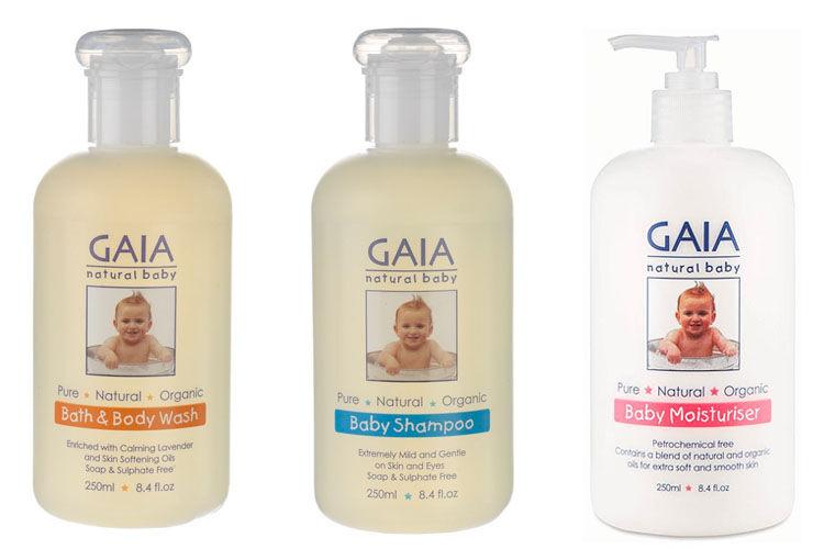 GAIA baby organic claims