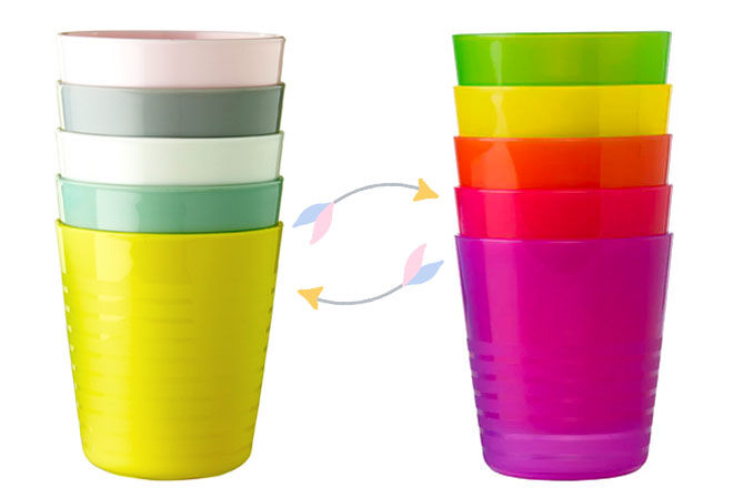 New IKEA KALAS pastel cups