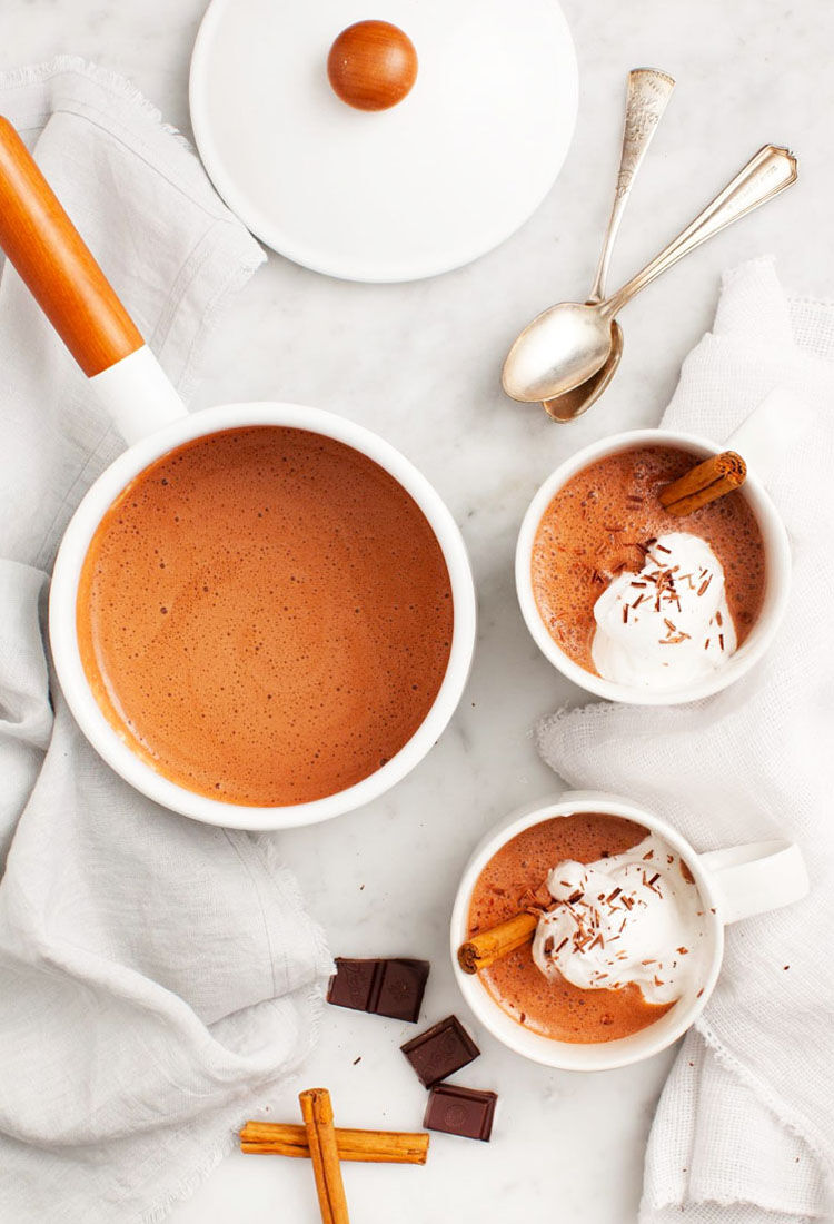 Maca hot chocolate recipe